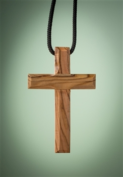 mahogany carved cross